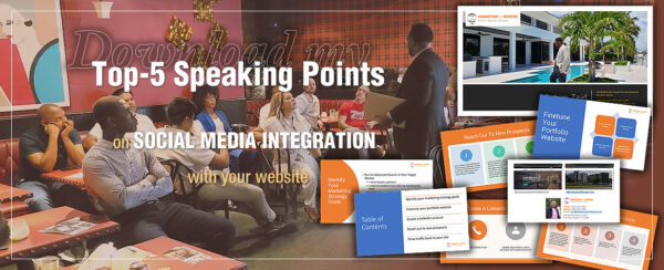 Sahim's top-5-speaking points on integrating social media engagement with your website.